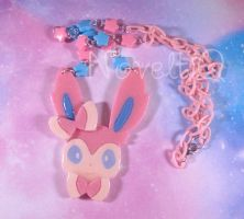 Sylveon Necklace by NoveltiQ