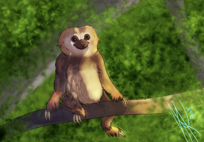 Sloth :GA: by SpiritInSpace