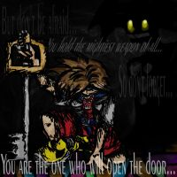 You Are The One Who Will Open The Door... by nazzara