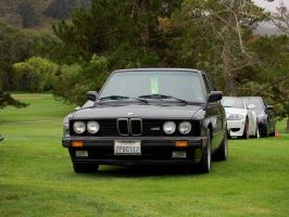 E28 1980s BMW M5 M Series by Partywave