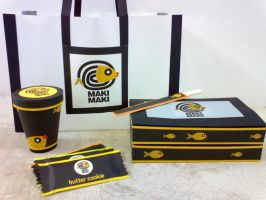 Maki Maki Packaging by missyrica