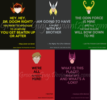 Keep Calm it's Earth's Mightiest Heros Second Set by Groovy-Guy