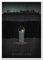 Shawshank Redemption Alternative Film Poster 4 by 3ftDeep