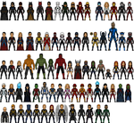 Alpha Universe Heroes (not all) by josediogo3333