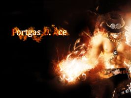 Portgas D. Ace by Mister-NoName