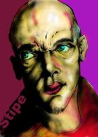 Mike Stipe  colored by killmeded