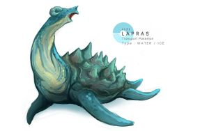 Lapras by MrRedButcher
