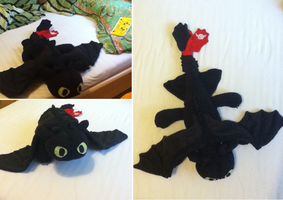 i sewed a dragon by pampelmusel