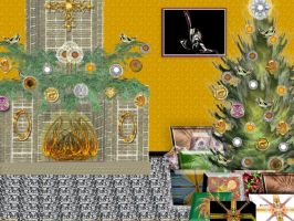 A Fractal Christmas at Home by patrx