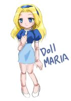 MARIA DOLL by GaruGiroSonicShadow