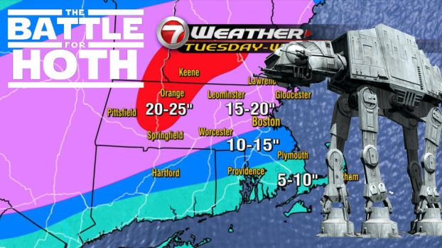 Battle for Hoth,  New England by khallion