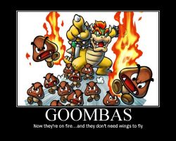 Goombas by SuperMarioStar777