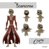 Catwoman: The Animated Series The Scarecrow by rickytherockstar