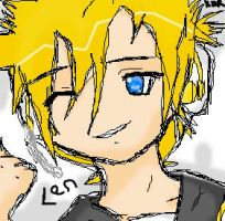 .:Len is Sketchy:. by Kill-Bloody-Rosesxxx