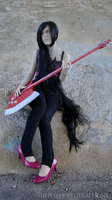 WIP Marceline Cosplay 2 by Fennec777