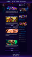 Heroes of the Storm layout by PaulDokr