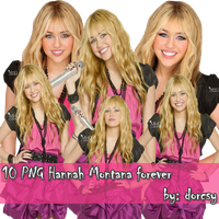 10 Hannah Montana Forever PNG by JustMeDorcsy