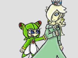 Cosmo and Rosalina by SurgeCraft
