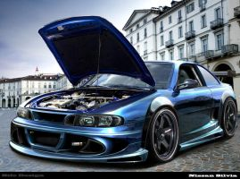 Nissan Silvia by Beafe