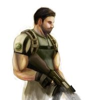 Resident Evil 5 - Chris by zekitty