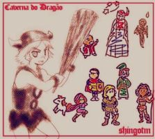 Dungeons and Dragons by Tidi-Lebre