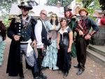 Steampunk at the Mid Michigan Renfest by Nevendar92