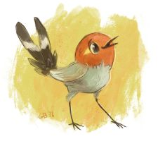 Fletchling by SuperGiantBird