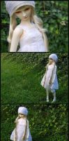 Georgiana- white by ball-jointed-Alice