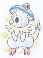 Piplup/Breloom Fusion by Yakalentos