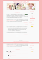 Blogspot template Subtelnie by MySensitiveHeart