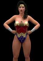 Another Wonder Woman by l-face