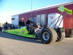 Mean Green Dragster by PhotoDrive