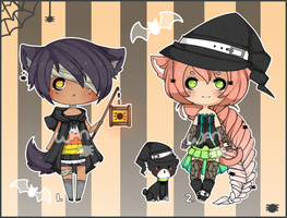 Halloween Auction Adopts [CLOSED] by WanNyan