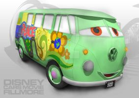 Disney Cars Fillmore by trentweber
