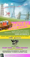 Brosur Hitam Putih Travel by PropaG4nda