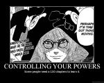 Controlling your powers by spaceninja309