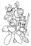 The Fearless Fab Four: WIP by Thormeister! by Estonius