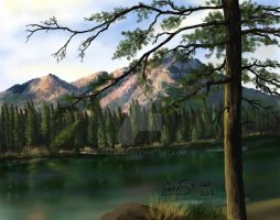 Rocky Mountains by Artsy50