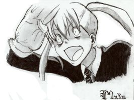 Maka gone crazy by Luisabel123