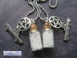 Supernatural Buddies Set of 2 by SpellsNSpooks