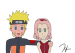 NaruSaku Request by xCaligula