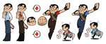 TF2 - Stickers! - by BloodyArchimedes