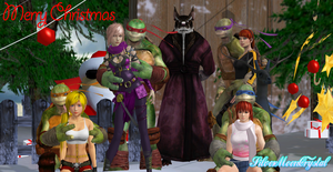 Turtletastic Xmas from the Guys by SilverMoonCrystal
