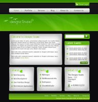 Dark-Green Business Template by rjoshicool