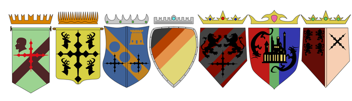 ephesian lordship crests by Pachumaster