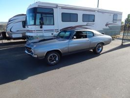 1970 Chevrolet Chevelle SS by TheHunteroftheUndead