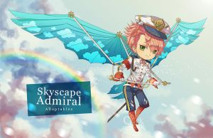 [CLOSED] :: Skyscape Admiral :: by ClockworkAdopt