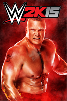 WWE2K15 Poster - Brock Lesnar by BooDyGFX