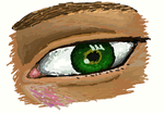 eye 8 - first on tablet by SarahMSpeed