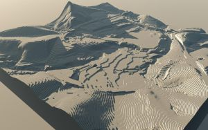 Terrain Model - Contoured by ExtremeProjects
